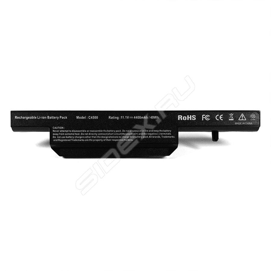 Аккумулятор Tempo C4500 11.1V 4400mAh для DNS CLEVO 0162456/0149447/0150166/0155833/0161102/0161145/0161147/0162453