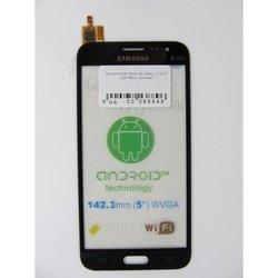 Тачскрин для Samsung Galaxy J3 2016 J320 (99648) (черный) (1 категория Q)