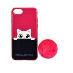 Чехол-накладка для Apple iPhone 7 (Lagerfeld K-Peek A Boo KLHCP7PABPI) (розовый)