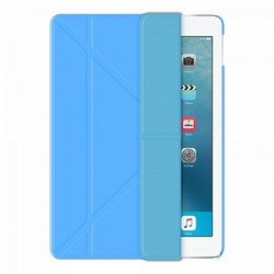чехол-книжка для apple ipad pro 9.7 (onzo wallet 88003) (голубой)