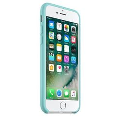 Чехол-накладка для Apple iPhone 7 (Apple MMX02ZM/A) (голубой)