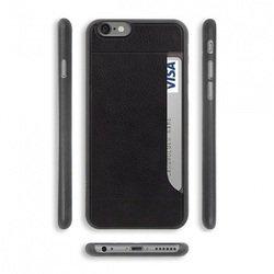 Чехол-накладка для Apple iPhone 6,6S Plus (Ozaki 0.4 + Pocket OC597BK) (черный)