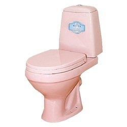 Misty Унитаз с бачком (с сиденьем, микролифт, розовый)