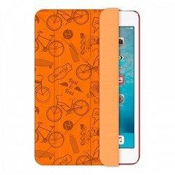 Чехол-книжка для Apple iPad mini 2, 3 (Onzo Wallet 88018) (c тиснением, оранжевый)