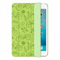 Чехол-книжка для Apple iPad mini 2, 3 (Onzo Wallet 88019) (c тиснением, зеленый)
