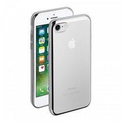 Чехол-накладка для Apple iPhone 7 (Deppa Gel Plus Case 85254) (серебристый)
