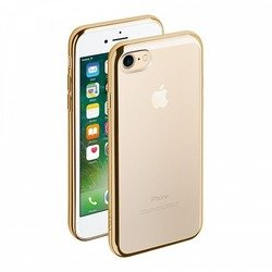 Чехол-накладка для Apple iPhone 7 (Deppa Gel Plus Case 85256) (золотистый)