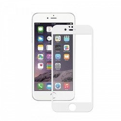 Защитное стекло для Apple iPhone 6 Plus, 6S Plus (Deppa 3D 61998) (белое)