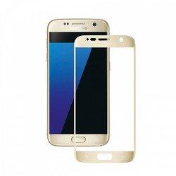 Защитное стекло для SamsungGalaxyS7 (Deppa 3D 62001) (золотистое)