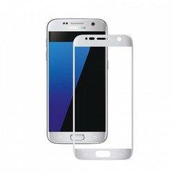 Защитное стекло для SamsungGalaxyS7 (Deppa 3D 62002) (серебристое)