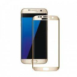 Защитное стекло для SamsungGalaxyS7 edge (Deppa 3D 62004) (золотистое)
