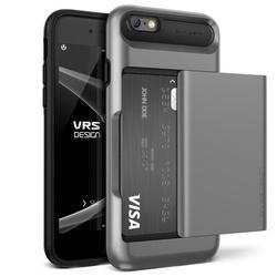 Чехол-накладка для Apple iPhone 6S, 6 (Verus Damda Glide 904688) (стальной)