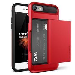 Чехол-накладка для Apple iPhone 7 (Verus Damda Glide 904613) (красное яблоко)