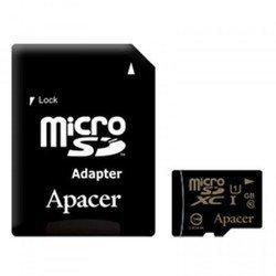 Apacer microSDXC Class 10 UHS-I 128GB + SD adapter (AP128GMCSX10U1-R)