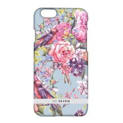 Чехол-накладка для Apple iPhone 7 (So Seven Romantic SVNCSRM2IP7) (Flowers and Birds)