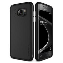 Чехол-накладка для Samsung Galaxy S7 Edge (Verus Single Fit 904422) (черный фантом)