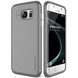 Чехол-накладка для Samsung Galaxy S7 Edge (Verus Single Fit 904421) (дымчато-серый)
