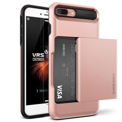 Чехол-накладка для Apple iPhone 7 Plus (Verus Damda Glide 904644) (розовое золото)