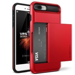 Чехол-накладка для Apple iPhone 7 Plus (Verus Damda Glide 904647) (красное яблоко)
