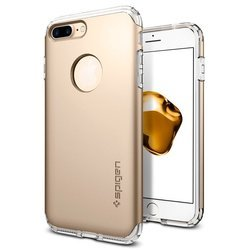 Чехол-накладка для Apple iPhone 7 (SGP Hybrid Armor 042CS20695) (шампань)