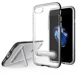 Чехол-накладка для Apple iPhone 7 (Spigen Crystal Hybrid 042CS20671) (черный)