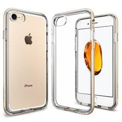 Чехол-накладка для Apple iPhone 7 (Spigen Neo Hybrid Crystal 042CS20521) (шампань)