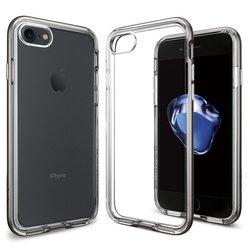 Чехол-накладка для Apple iPhone 7 (Spigen Neo Hybrid Crystal 042CS20522) (стальной)