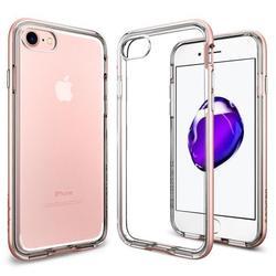 Чехол-накладка для Apple iPhone 7 (Spigen Neo Hybrid Crystal 042CS20524) (розовое золото)