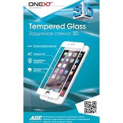 Защитное стекло для Apple iPhone 7 (Onext 3D 41158) (белый)