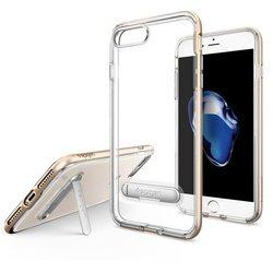 Чехол-накладка для Apple iPhone 7 Plus (Spigen Crystal Hybrid 043CS20509) (шампань)