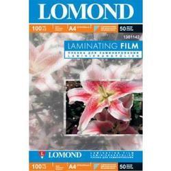 Пленка для ламинирования 100 мкм, A4, 218x305 мм (Lomond 1301142) (50 пакетов)