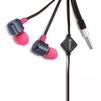 Zetton Life Style Triangle ZTLSHSTRIBP (черно-розовый) - НаушникиНаушники<br>Наушники с микрофоном, вставные (затычки), диапазон воспроизводимых частот 20 - 20000 Гц, чувствительность 102 дБ, импеданс 16Ом, разъём miniJack 3,5 мм.<br>