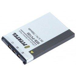 Аккумулятор для Casio Exilim EX-Z11, EX-Z4, EX-Z5, EX-Z6, EX-Z7, EX-S600, Zoom EX-Z60, EX-Z70, EX-Z77 (Pitatel SEB-PV100)