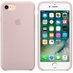 Чехол-накладка для Apple iPhone 7 (Apple Silicone Case MMX12ZM/A) (розовый)