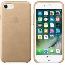 Чехол-накладка для Apple iPhone 7 (Apple Leather Case MMY72ZM/A) (золотистый)