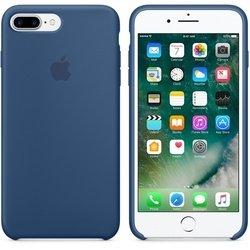 Чехол-накладка для Apple iPhone 7 Plus (Apple Silicone Case MMQX2ZM/A) (синий)