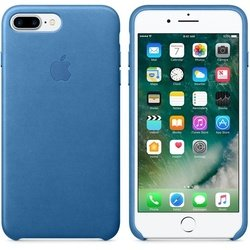 Чехол-накладка для Apple iPhone 7 Plus (Apple Leather Case MMYH2ZM/A) (синий)