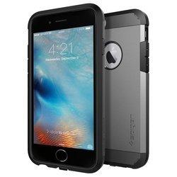 Чехол-зарядка для Apple iPhone 6, 6S (Spigen Slim Armor Volt SGP11560) (стальной)