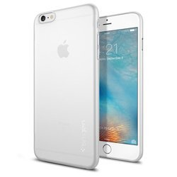 Чехол-накладка для Apple iPhone 6S Plus (Spigen Case Air Skin SGP11641) (матово-прозрачный)