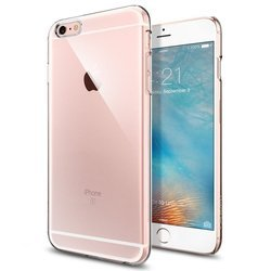 Чехол-накладка для Apple iPhone 6S Plus (Spigen Thin Fit Series SGP11637) (кристально-прозрачный)
