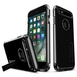 Чехол-накладка для Apple iPhone 7 (Spigen Slim Armor 042CS20842) (ультра черный)