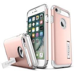 Чехол-накладка для Apple iPhone 7 (Spigen Slim Armor 042CS20303) (розовое золото)