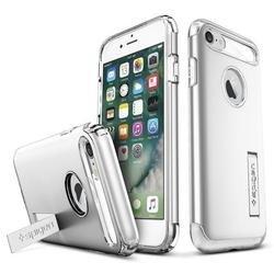 Чехол-накладка для Apple iPhone 7 (Spigen Slim Armor 042CS20305) (серебристый)