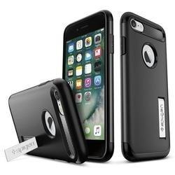 Чехол-накладка для Apple iPhone 7 (Spigen Slim Armor 042CS20647) (черный)