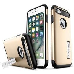 Чехол-накладка для Apple iPhone 7 (Spigen Slim Armor 042CS20302) (шампань)