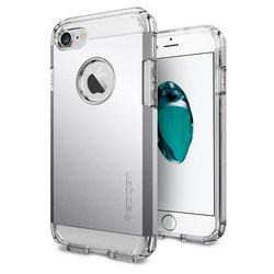 Чехол-накладка для Apple iPhone 7 (Spigen Tough Armor 042CS20672) (серебристый)