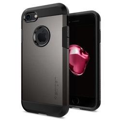 Чехол-накладка для Apple iPhone 7 (Spigen Tough Armor 042CS20489) (стальной)