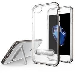Чехол-накладка для Apple iPhone 7 (Spigen Crystal Hybrid 042CS20459) (стальной)