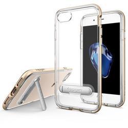 Чехол-накладка для Apple iPhone 7 (Spigen Crystal Hybrid 042CS20460) (шампань)