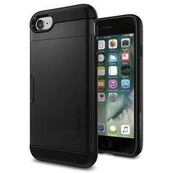 Чехол-накладка для Apple iPhone 7 (Spigen Slim Armor CS 042CS20455) (черный)